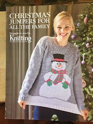 £1.75 • Buy Knitting Pattern Booklet - CHRISTMAS JUMPERS FOR ALL THE FAMILY