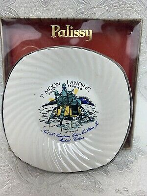 £4.99 • Buy Royal Worcester Palissy Dish 1st Moon Landing China Rare Collectable Vintage M28