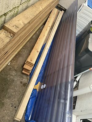 £25 • Buy Clear Corrugated Plastic Roofing Sheets
