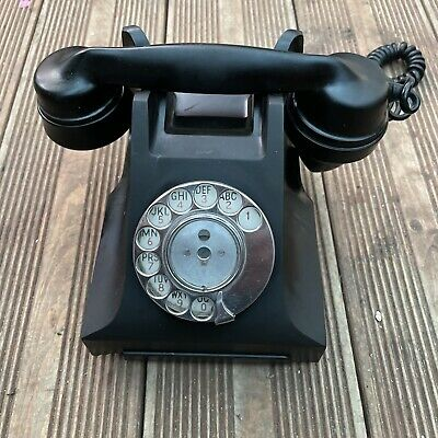 £29 • Buy GPO Bakelite Telephone Type 332 L.  No Drawer. 1950s. Modified. Decor-only