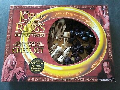 £29 • Buy Lord Of The Rings : The Two Towers Chess Set