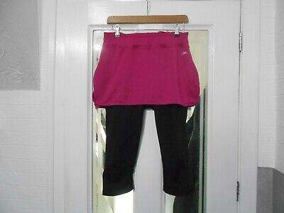 £1.99 • Buy Ladies All In One Activewear Skirt And Leggings By Crane - Size S/M