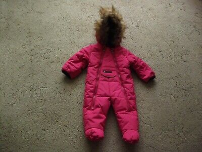 £10.99 • Buy Girls Weather Canada Snow Suit Age 6 = 9 Months