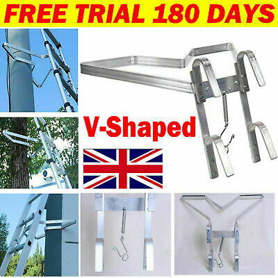£23.70 • Buy Universal Ladder Stand-Off V-shaped Downpipe - Ladder Accessory Easy Fitting NEW