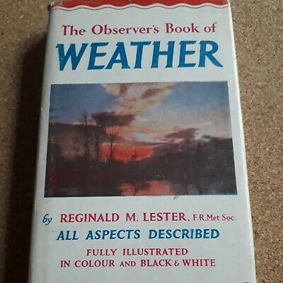 £4 • Buy Observer Book  Weather