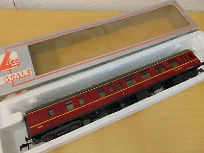 £29.99 • Buy Lima O Gauge Lms Maroon 1st Class Corridor Coach Excellent Boxed Condition