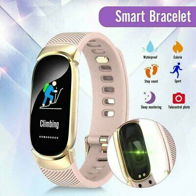 AU30.92 • Buy Women's Lady Bluetooth Smart Watch Phone Mate For Android IOS IPhone Samsung