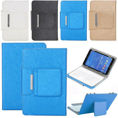 £18.99 • Buy Wireless Keyboard Case Cover Stand For Samsung Galaxy Tab A/E/S 7.0 10 In Tablet