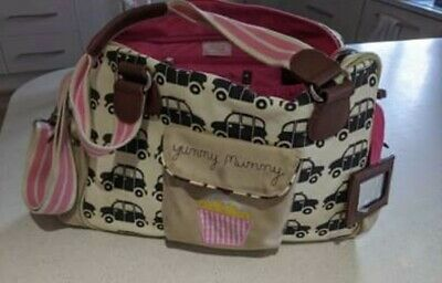 £7 • Buy Yummy Mummy/pink Lining  Cabs Baby Changing Bag