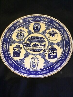 £10 • Buy Ringtons Collectors Plate  The Decorative Caddy Collection  Gilded Edge 1992 Vgc
