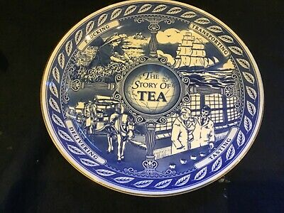"""£10 • Buy 'The Story Of Tea' Decorative 10"""" Plate By Masons For Ringtons"""