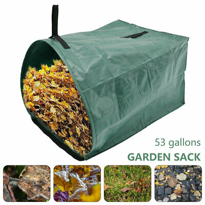 £8.69 • Buy Garden Waste Bags Heavy Duty Strong Sack Grass Leaves Logs Builders Bag