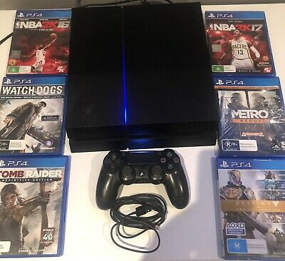 AU150 • Buy PLAYSTATION 4 Ps4 500gb ULTIMATE PLAYER EDITION CONSOLE 6 Games
