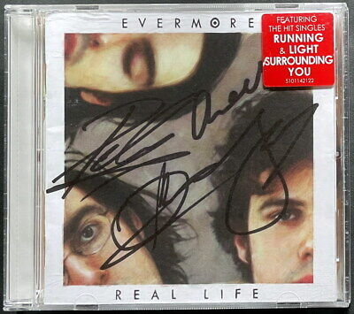 AU89 • Buy Evermore - Real Life SIGNED CD - Free Shipping