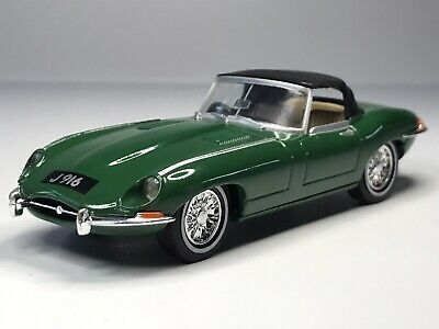 £1.40 • Buy Vintage Dinky Toys 1:43 1967 Jaguar E Type Convertible In Green Loose