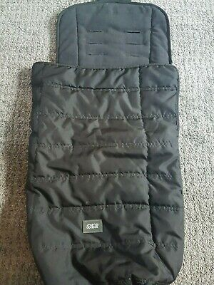 £20 • Buy Mamas & Papas Black Cold Weather Waterproof Foot Muff - Good Condition