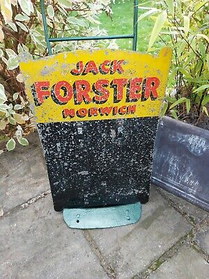 £95 • Buy Vintage On Course Bookmaker's Metal Sign - Jack Forster Norwich - 60s
