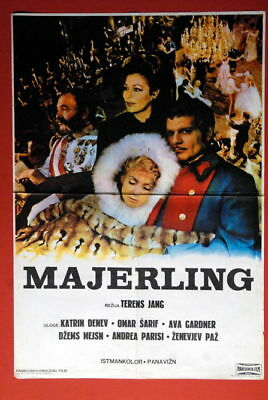 Mayerling Ava Gardner 1968 Rare Exyu Movie Poster • 15.19£