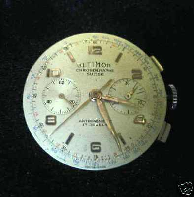 $ CDN489.99 • Buy Vintage Ultimor Swiss Landeron 51 Chronograph Mechanical Movement