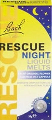 Bach Rescue Night Remedy Liquid Melts  THREE PACKS (3x28) Best Before 11/2021 • 22.99£