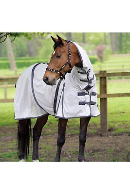 £34.99 • Buy Masta Zing Summer Lightweight Mesh Fly Horse Rug With Fixed Neck