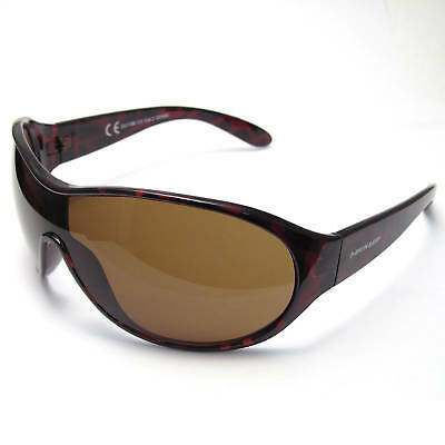 Super Dunlop Mens Sunglasses Uv400 Brown Wraparound #11 • 9.99£
