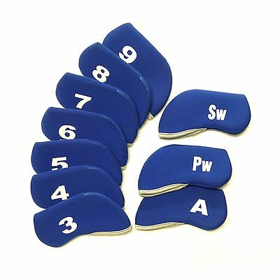 AU23.50 • Buy Golf Club Iron Head Covers Protect Headcover Suit Callaway  Mizuno Bag