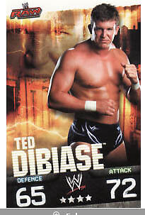 WWE Slam Attax Evolution - Ted DiBiase Raw Card • 0.99£