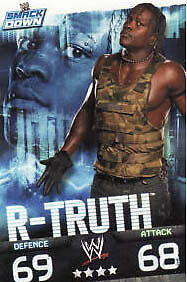 WWE Slam Attax Evolution - R-Truth Smackdown Card • 0.99£