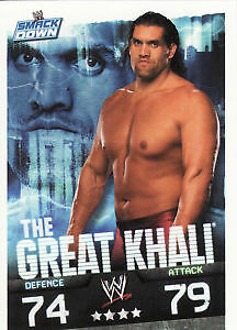 WWE Slam Attax Evolution-The Great Khali Smackdown Card • 0.99£
