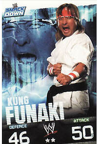 WWE Slam Attax Evolution - Kung Funaki Smackdown Card • 0.99£