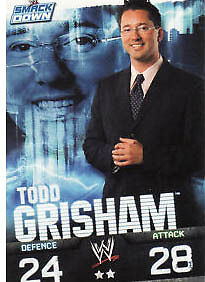 WWE Slam Attax Evolution - Todd Grisham Smackdown Card • 0.99£