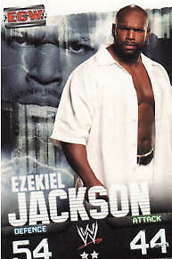 WWE Slam Attax Evolution - Ezekiel Jackson ECW Card • 0.99£