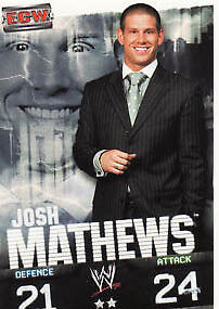 WWE Slam Attax Evolution - Josh Mathews ECW Card • 0.99£