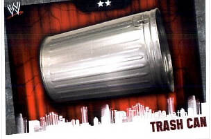 WWE Slam Attax Evolution - Trash Can Card • 0.99£