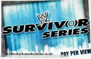 WWE Slam Attax Evolution - Survivor Series PPV Card • 0.99£