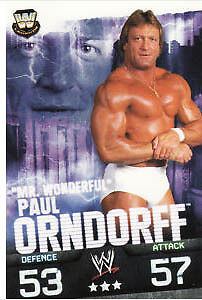 WWE Slam Attax Evolution - Paul Orndorff Legend Card • 0.99£