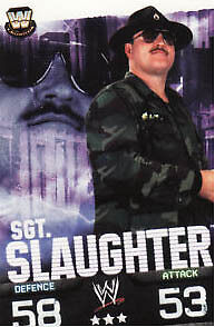 WWE Slam Attax Evolution - SGT. Slaughter Legend Card • 0.99£