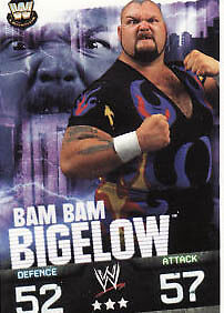 WWE Slam Attax Evolution - Bam Bam Bigelow Legend Card • 0.99£