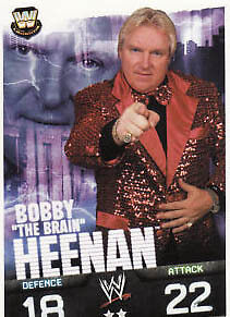WWE Slam Attax Evolution - Bobby Heenan Legend Card • 0.99£