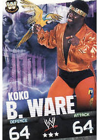WWE Slam Attax Evolution - Koko B.Ware Legend Card • 0.99£