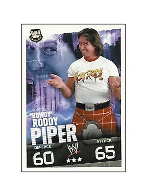 WWE Slam Attax Evolution - Roddy Piper Legend Card • 0.99£