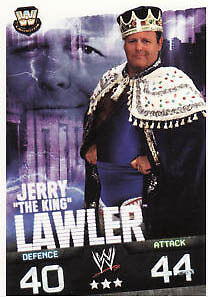 WWE Slam Attax Evolution -Jerry Lawler Legend Card • 0.99£