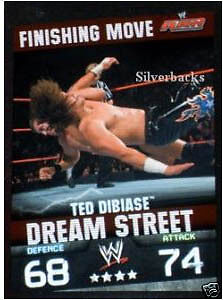 WWE Slam Attax Evolution- Ted DiBiase Finishing Move • 0.99£