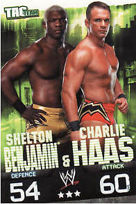 WWE Slam Attax Evolution Benjamin & Haas Team Card • 0.99£