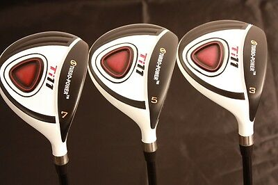 AU344.73 • Buy Petite Women Golf Clubs Wood Set Ladies #3 #5 #7 Custom Made Lady Fairway Woods