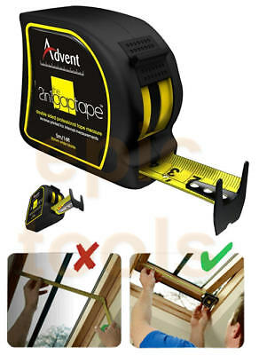 ADVENT 5m/16ft GAP Double Sided Metric & Imperial Internal/External Tape Measure • 9.40£