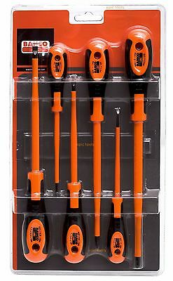 £26.99 • Buy BAHCO 620-6 Slot & Phillips 6 Piece VDE Insulated Screwdriver Set (600 Series)