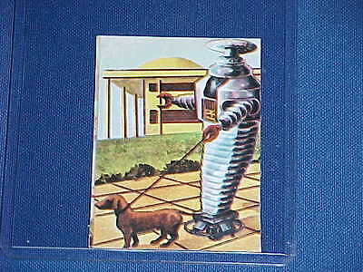 AU362.77 • Buy 1960's LOST IN SPACE TV ROBOT B9 WALKING DOG SITTER TRADING CARD RARE
