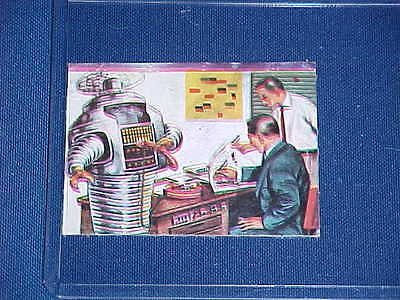 AU362.77 • Buy 1960's LOST IN SPACE TV ROBOT B9 SECRETARY DICTAPHONE TRADING CARD RARE